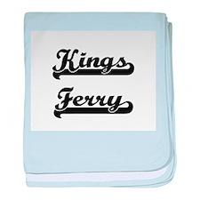 Kings Ferry Classic Retro Design baby blanket
