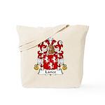 Lance Family Crest Tote Bag