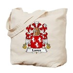 Lance Family Crest Tote Bag