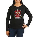 Lance Family Crest Women's Long Sleeve Dark T-Shir