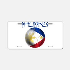 Philippines Football Aluminum License Plate