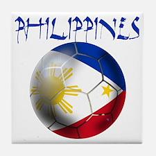 Philippines Football Tile Coaster