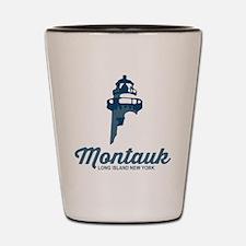Montauk - Long Island. Shot Glass
