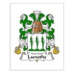 Lamothe Family Crest Small Poster