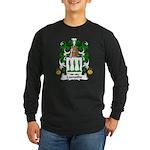 Lamothe Family Crest Long Sleeve Dark T-Shirt