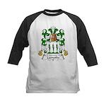 Lamothe Family Crest Kids Baseball Jersey