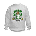 Lamothe Family Crest Kids Sweatshirt