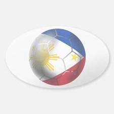 Philippines Soccer Ball Decal
