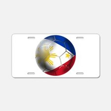 Philippines Soccer Ball Aluminum License Plate