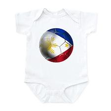 Philippines Soccer Ball Infant Bodysuit