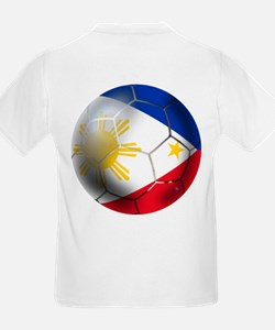 Philippines Soccer Ball T-Shirt