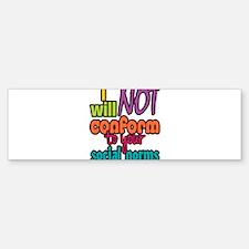 Social Norms Bumper Bumper Bumper Sticker
