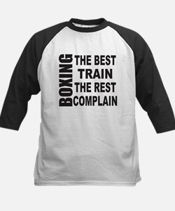BOXING THE BEST TRAIN THE RES Kids Baseball Jersey