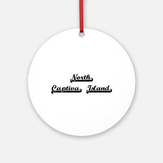 North Captiva Island Classic Retr Ornament (Round)