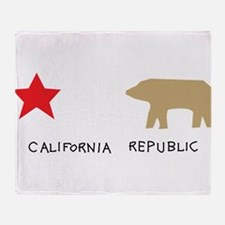 California Republic Throw Blanket