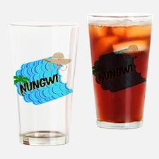 Unique Maho Drinking Glass