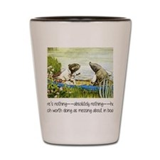 wind in the willows Shot Glass