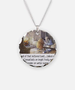 wind in the willows Necklace Circle Charm