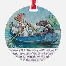 wind in the willows Ornament