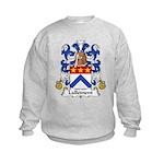Lallement Family Crest Kids Sweatshirt
