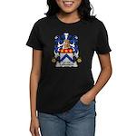 Lallement Family Crest Women's Dark T-Shirt