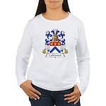 Lallement Family Crest Women's Long Sleeve T-Shirt