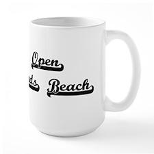 Open Sands Beach Classic Retro Design Mugs