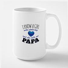 She Calls Me Papa Mugs
