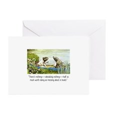 Wind in the Willows Insp Greeting Cards (Pk of 10)
