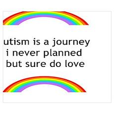 Autism Rainbow Poster