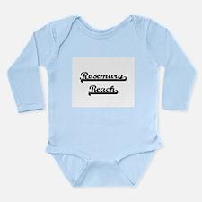 Rosemary Beach Classic Retro Design Body Suit