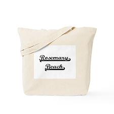 Rosemary Beach Classic Retro Design Tote Bag