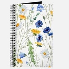 Cute Floral Journal