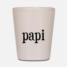 papi.png Shot Glass