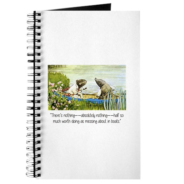 wind in the willows inspirational quote journal by