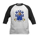 Lagasse Family Crest Kids Baseball Jersey