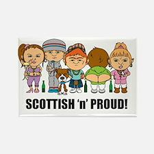 Scottish 'n' Proud Rectangle Magnet