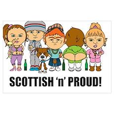 Scottish 'n' Proud Poster