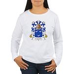 Lagasse Family Crest Women's Long Sleeve T-Shirt