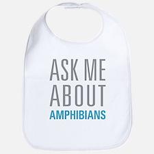 Ask Me Amphibians Bib