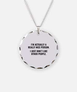 Really Nice Person Necklace
