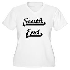 South End Classic Retro Design Plus Size T-Shirt