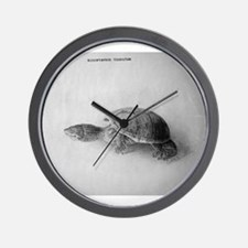 Black and White Turtle Wall Clock