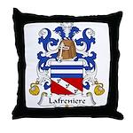 Lafreniere Family Crest Throw Pillow