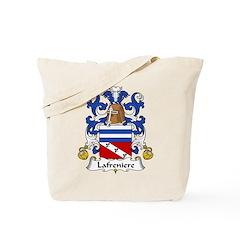 Lafreniere Family Crest Tote Bag