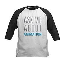 Ask Me Animation Baseball Jersey