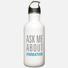 Ask Me Animation Water Bottle