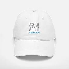 Ask Me Animation Baseball Baseball Cap