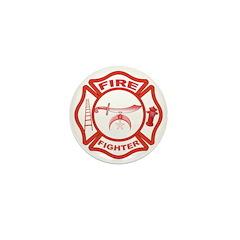 Shrine Fire Fighter Mini Button (100 pack)