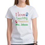 I Love Teaching Preschool T-Shirt
